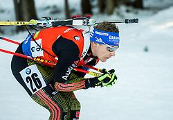 Andreas Birnbacher (GER) during Men 12,5 km Pursuit at day 3 of IBU Biathlon World Cup 2015/16 Pokljuka, on December 19, 2015 in Rudno polje, Pokljuka, Slovenia. Photo by Vid Ponikvar / Sportida