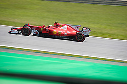 November 10, 2017 - Sao Paulo, Sao Paulo, Brazil - 7 KIMI RAIKKONEN (FIN) of Scuderia Ferrari, drives during the free training day for the Formula One Grand Prix of Brazil at Interlagos circuit, in Sao Paulo, Brazil. The grand prix will be celebrated next Sunday, November 12. (Credit Image: © Paulo Lopes via ZUMA Wire)