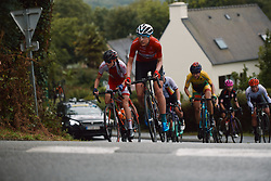 Vita Heine (NOR) at the 2020 UEC Road European Championships - Elite Women Road Race, a 109.2 km road race in Plouay, France on August 27, 2020. Photo by Sean Robinson/velofocus.com