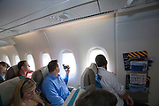 Airbus A380 first commercial flight - Singapore Airlines SQ 380 Singapore-Sydney on October 25, 2007. Economy Class.
