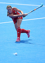 England Grace Balsdon during the Vitality Women's Hockey World Cup pool B match at The Lee Valley Hockey and Tennis Centre, London. PRESS ASSOCIATION Photo. Picture date: Saturday July 21, 2018. Photo credit should read: Steven Paston/PA Wire.