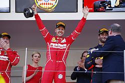 May 28, 2017 - Monte Carlo, Monaco - Motorsports: FIA Formula One World Championship 2017, Grand Prix of Monaco, .#5 Sebastian Vettel (GER, Scuderia Ferrari) (Credit Image: © Hoch Zwei via ZUMA Wire)