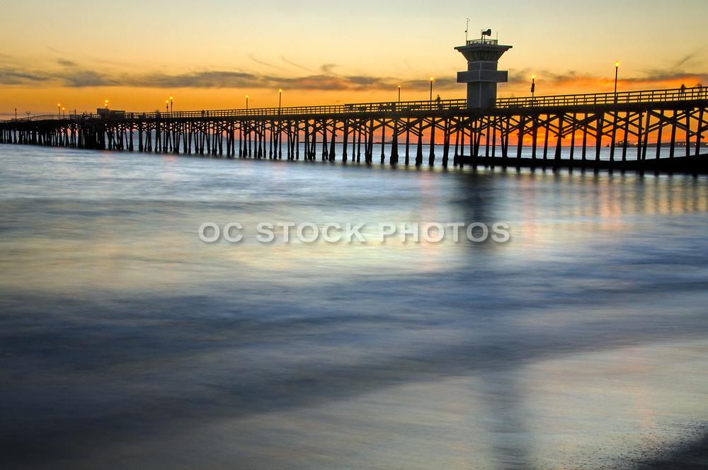 Seal Beach Pier at Sunset