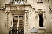 Balcony on Rue de Bellechasse, Paris, France