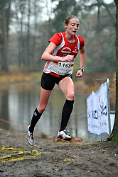 27-11-2011 ATLETIEK: NK CROSS 53e WARANDELOOP: TILBURG<br /> Verena Dreier GER<br /> ©2011-FotoHoogendoorn.nl