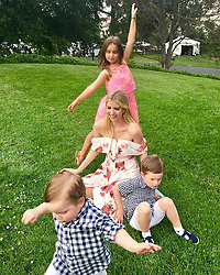 """Ivanka Trump releases a photo on Instagram with the following caption: """"Family photo take #45 \ud83d\udcf8\nLots of fun tonight at the Congressional Picnic \ud83c\udfa0"""". Photo Credit: Instagram *** No USA Distribution *** For Editorial Use Only *** Not to be Published in Books or Photo Books ***  Please note: Fees charged by the agency are for the agency's services only, and do not, nor are they intended to, convey to the user any ownership of Copyright or License in the material. The agency does not claim any ownership including but not limited to Copyright or License in the attached material. By publishing this material you expressly agree to indemnify and to hold the agency and its directors, shareholders and employees harmless from any loss, claims, damages, demands, expenses (including legal fees), or any causes of action or allegation against the agency arising out of or connected in any way with publication of the material."""