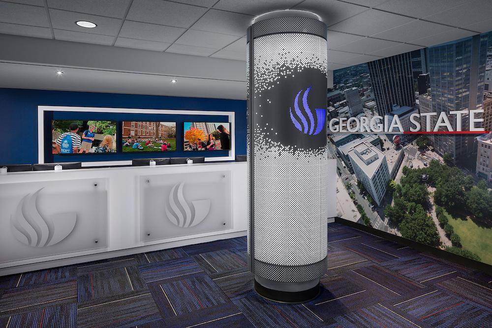 Georgia State Welcome Center 01 - Atlanta, GA