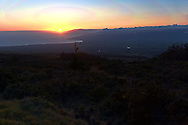 Hawaii Sunset from Haleakala volcano in Maui
