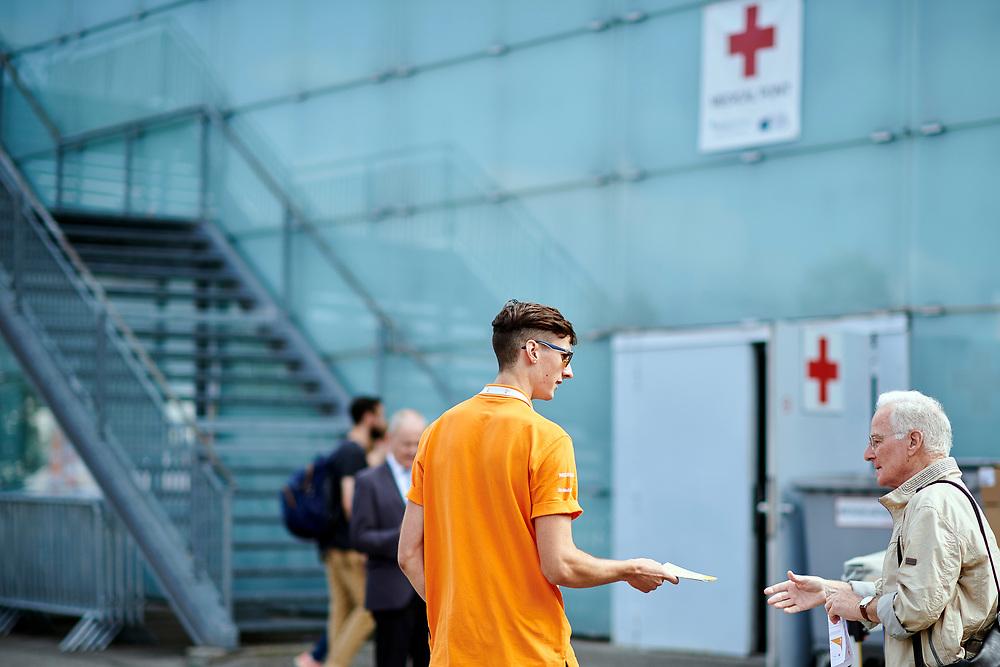 Feature - Volunteers, Infrastruktur, Wegweiser. © Manu Friederich