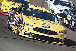November 12, 2017 - Avondale, Arizona, United States of America - November 12, 2017 - Avondale, Arizona, USA: Matt DiBendetto (32) brings his race car through the turns during the Can-Am 500(k) race at the Phoenix Raceway in Avondale, Arizona. (Credit Image: © Walter G Arce Sr Asp Inc/ASP via ZUMA Wire)
