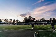 MERTHYR TYDFIL, WALES - 25 JULY 2019 - Pre season friendly, Merthyr Town v Penydarren Boys Girls Club,  Penydarren Park, Merthyr Tydfil, Wales.