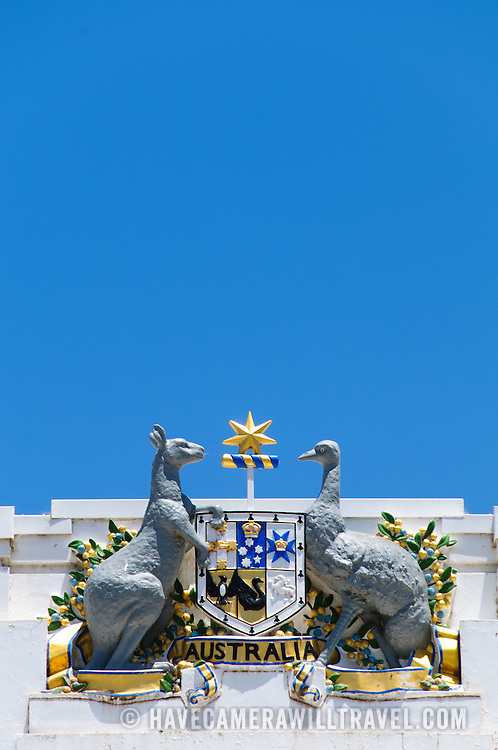 The Coat of Arms of Australia (formally known as Commonwealth Coat of Arms) is the official symbol of Australia. The initial coat of arms was granted by King Edward VII on 7 May 1908, and the current version was granted by King George V on 19 September 1912