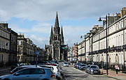 Edinburgh is the capital city of Scotland, in Lothian on the Firth of Forth's southern shore, Scotland, United Kingdom, Europe.