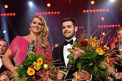 15-12-2015 NED: NOC*NSF Sportgala 205, Amsterdam<br /> In de Amsterdamse Rai werden de prijzen sportman, sportvrouw, sportploeg, coach en paralympische sporter verdeeld / Winnaars bij elkaar - Sportvrouw Dafne Schippers, sportman Sjinkie Knegt