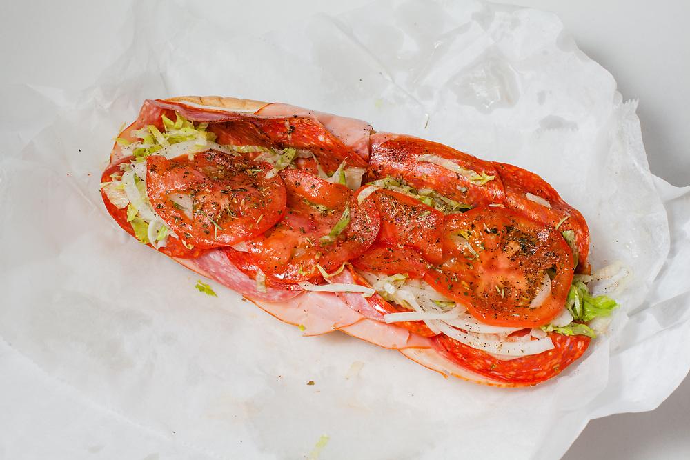 Italian Hoagie from Dan's Fresh Meats ($9.95) - Takeout