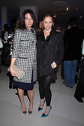 Left to right, sisters MARY McCARTNEY and STELLA McCARTNEY attending the Tag Heuer party where an exhibition of photographs by Mary McCartney celebrating 15 exception women from 15 countries was unveiled at the Royal College of Arts, Kensington Gore, London on 8th February 2007.<br /><br />NON EXCLUSIVE - WORLD RIGHTS
