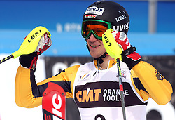 Felix Nureuther at 9th men's slalom race of Audi FIS Ski World Cup, Pokal Vitranc,  in Podkoren, Kranjska Gora, Slovenia, on March 1, 2009. (Photo by Vid Ponikvar / Sportida)
