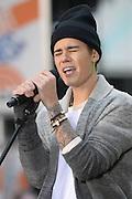Nov. 18, 2015 - New York, NY, USA - <br /> <br /> Justin Bieber performing in concert on NBC TODAY at Rockefeller Plaza<br /> ©Exclusivepix Media