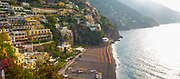 Panoramic of Positano, a cliffside village on the Amalfi Coast, Campania region, Italy