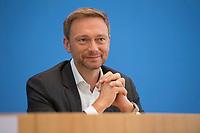 DEU, Deutschland, Germany, Berlin, 26.06.2017: Der FDP-Parteivorsitzende Christian Lindner in der Bundespressekonferenz zum Thema Bürgerrechte-Bilanz der Großen Koalition.