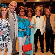 NLD/Noordwijk/20100502 - Gerard Joling 50ste verjaardag, Ernst Daniel Smid en partner Rosamarie Giesen van der Sluis, Christine Kroonenberg, cameraman Bert en Jan van Doorn