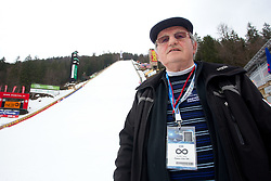 Janez Gorisek, the hill constructor after the Flying Hill Individual Qualifications at 1st day of FIS Ski Jumping World Cup Finals Planica 2011, on March 17, 2011, Planica, Slovenia. (Photo by Vid Ponikvar / Sportida)