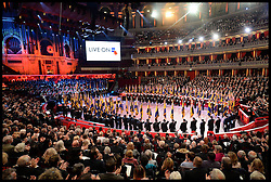November 12, 2016 - London, United Kingdom - Image ©Licensed to i-Images Picture Agency. 12/11/2016. London, United Kingdom. Royal Festival of Remembrance. ...A general view of the annual Royal Festival of Remembrance at the Royal Albert Hall in London..Picture by  i-Images / Pool (Credit Image: © i-Images via ZUMA Wire)