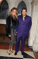 JORDAN and PETER ANDRE at Andy & Patti Wong's annual Chinese New Year party, this year celebrating the year of the dog held at The Royal Courts of Justice, The Strand, London WC2 on 28th January 2006.<br />