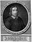 Jacob Boehme (1575-1624) German theosophist, mystic and alchemist. After engraving by Pieter van Gunst.