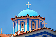 Nunnery of Ayia Aikaterini, Aegina, Greek Saronic Islands ..<br /> <br /> If you prefer to buy from our ALAMY PHOTO LIBRARY  Collection visit : https://www.alamy.com/portfolio/paul-williams-funkystock/aegina-greece.html <br /> <br /> Visit our GREECE PHOTO COLLECTIONS for more photos to download or buy as wall art prints https://funkystock.photoshelter.com/gallery-collection/Pictures-Images-of-Greece-Photos-of-Greek-Historic-Landmark-Sites/C0000w6e8OkknEb8
