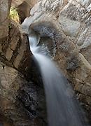 Cascade detail, Romero Creek, Santa Catalina mountains, Tucson