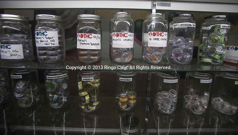 A medical marijuana dispensary  in Los Angeles.  (Photo by Ringo Chiu/PHOTOFORMULA.com)