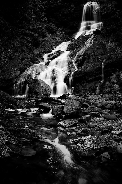 Beulach Ban Falls in Cape Breton. The best looking waterfall on the Cape (in my opinion).