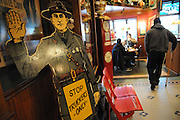 """The decor at """"R"""" Place Restaurant speaks to the trucking clientele at the TA Travel Centers of America location in Morris, Illinois."""