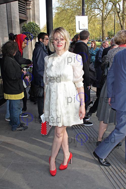 LONDON - May 13: Edith Bowman at the Sony Radio Academy Awards (Photo by Brett D. Cove)