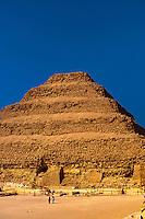 Step Pyramid of King Zoser, Saqqara, Egypt