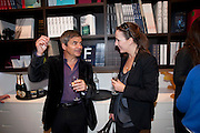 HARRY HANDLESMAN; CHARLIE BELL Polly Morgan book launch. Still Birth published by Other Criteria. London. 8 April 2010
