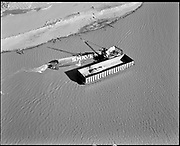 "ackroyd-P380-20 ""Rivergate. February 9, 1968"" ((Shaver barge & dredge. effluent discharge?)"