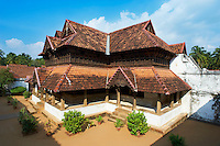 Inde, Etat du Kerala, Palais de Padmanabhapuram, plus grand complexe palatial en bois d Asie // India, Kerala state, Padmanabhapuram palace, biggest wooden palace of Asia