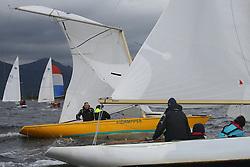 Marine Blast Regatta 2013 - Holy Loch SC<br /> <br /> Stormpiper dismasting<br /> <br /> Credit: Marc Turner / PFM Pictures
