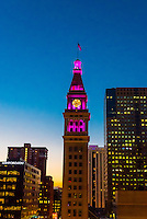 The D&F Tower, Downtown Denver, Colorado USA.