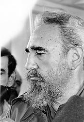 Italy, Pozzuoli (Naples) - 1993 - (?!).Fidel Castro (Credit Image: © Napoli/Giacomino/Ropi via ZUMA Press)