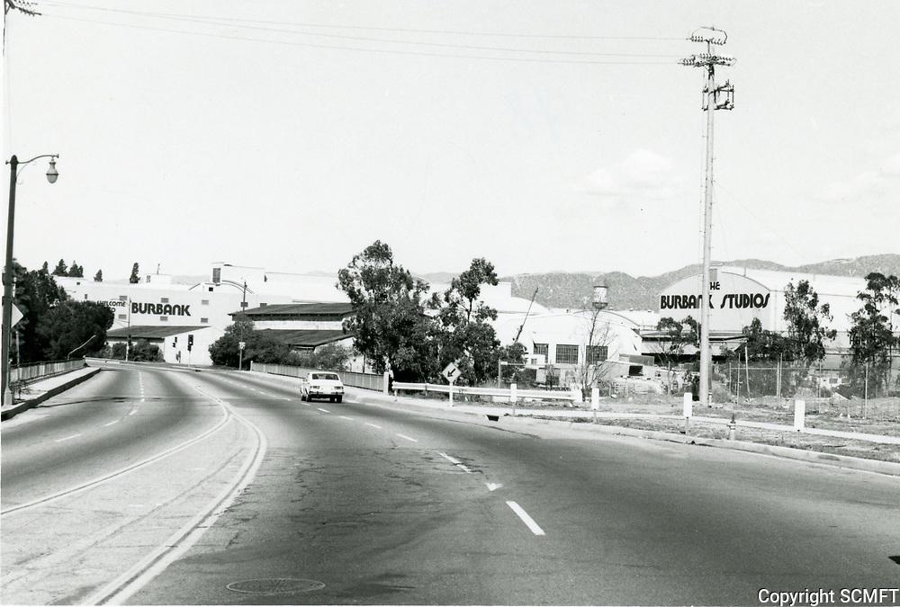 1974 Warner Bros. studio in Burbank