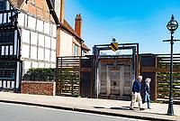 stratford Upon Avon locked down photo by Mark Anton Smith