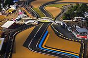 24 hours of Le Mans, June 16-17, 2012. Helicopter view, Circuit de la Sarthe
