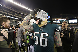during the NFL NFC Championship game between The Minnesota Vikings and The Philadelphia Eagles at Lincoln Financial Field in Philadelphia on Sunday, January 21st 2018. (Brian Garfinkel/Philadelphia Eagles)