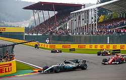 August 27, 2017 - Spa-Francorchamps, Belgium - Motorsports: FIA Formula One World Championship 2017, Grand Prix of Belgium, ..#77 Valtteri Bottas (FIN, Mercedes AMG Petronas F1 Team) (Credit Image: © Hoch Zwei via ZUMA Wire)