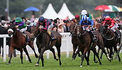 The Tin Man ridden by Tom Queally wins the Diamond Jubilee Stakes during day five of Royal Ascot at Ascot Racecourse.