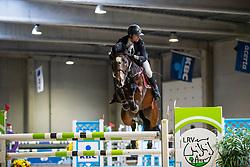 Capoen Camiel, BEL, Dagano van de Dulfrikhoeve<br /> Klasse Zwaar<br /> Nationaal Indoor Kampioenschap Pony's LRV <br /> Oud Heverlee 2019<br /> © Hippo Foto - Dirk Caremans<br /> 09/03/2019