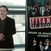 Persconferentie musical Titanic, Robin de Levita